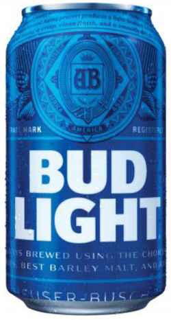 Bud Light clipart budweiser  Light Bud