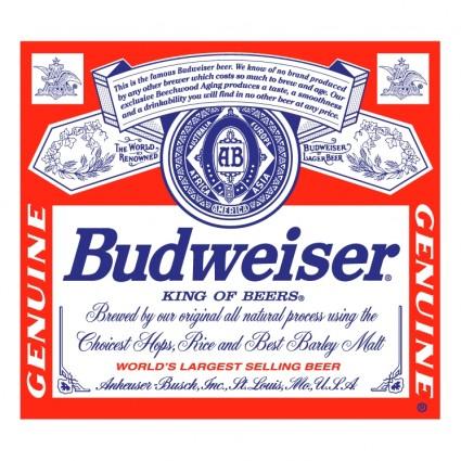 Budweiser clipart budwiser For Clip vector Budweiser Free