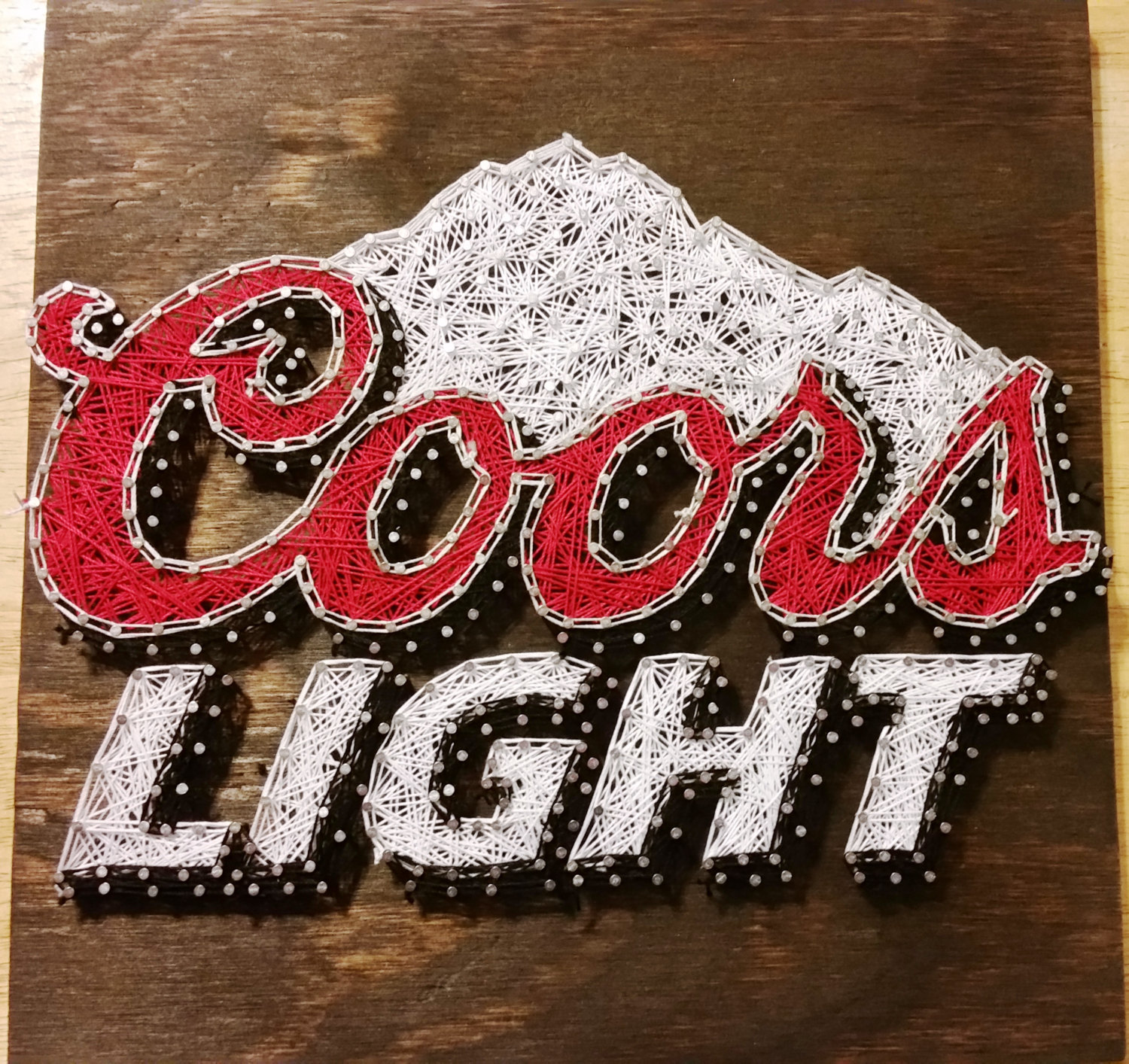 Bud Light clipart coors light Made to Coors Light Sign