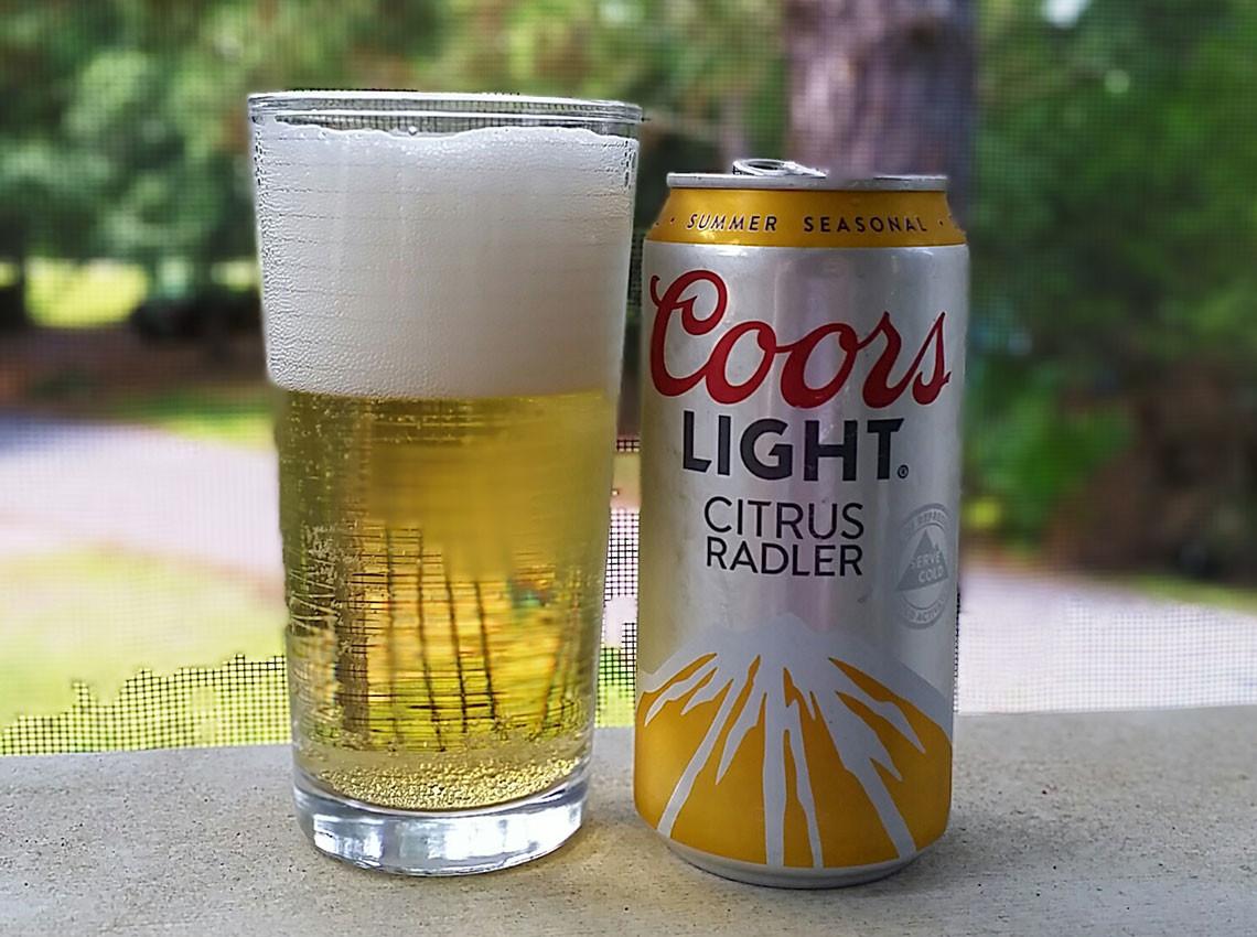 Bud Light clipart coors light Citrus Radler: Light Citrus of