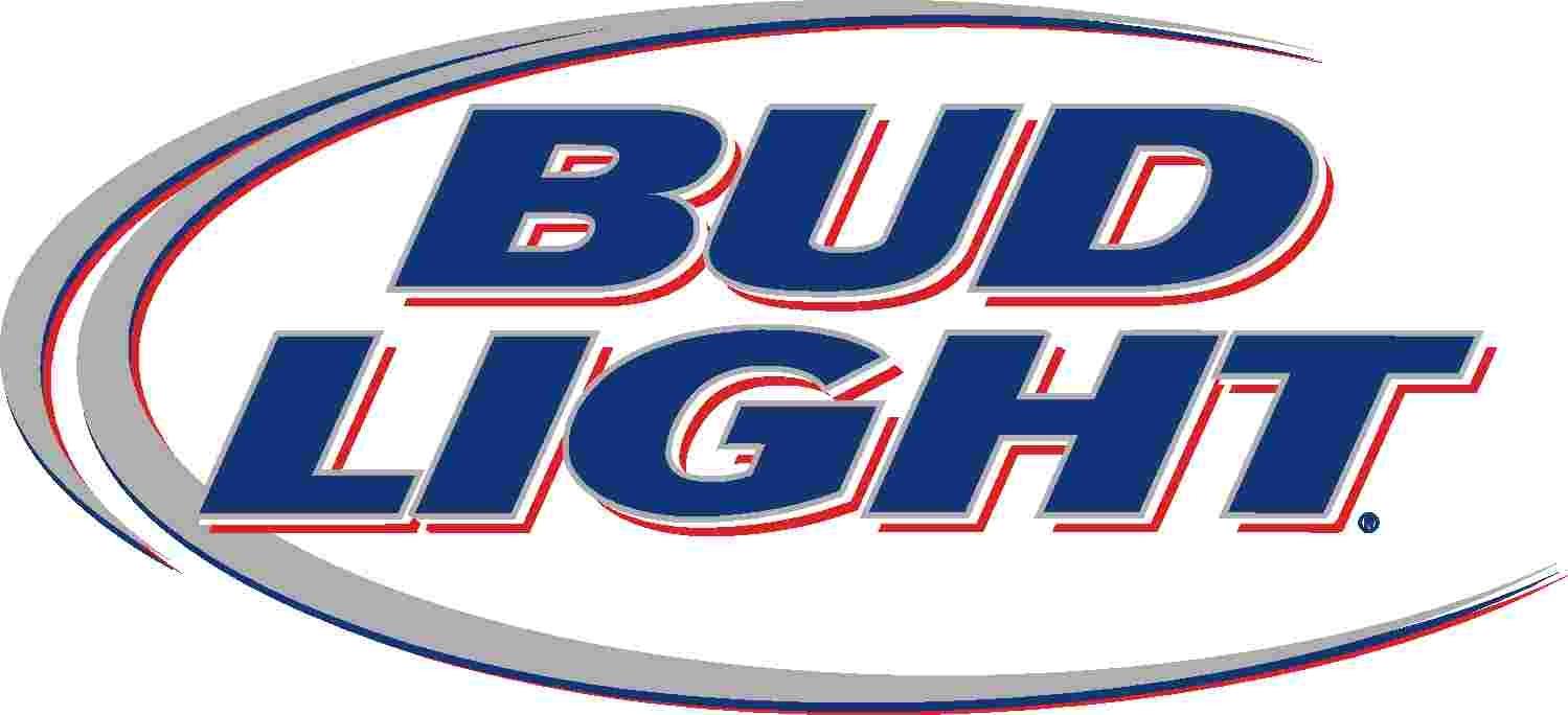 Bud Light clipart logo Art Miller and  Logo