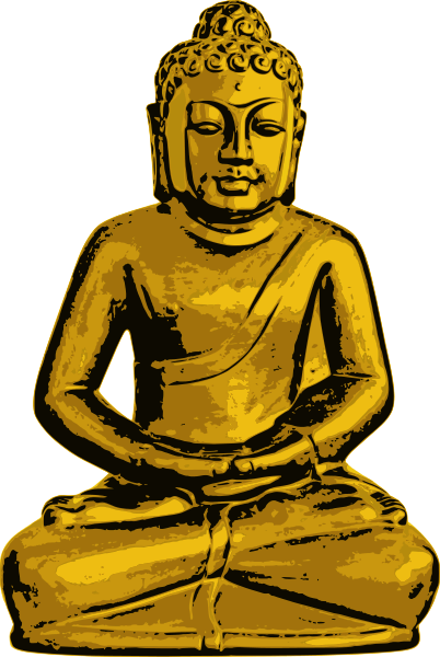 Religion clipart buddhism Golden Clip Use Art to