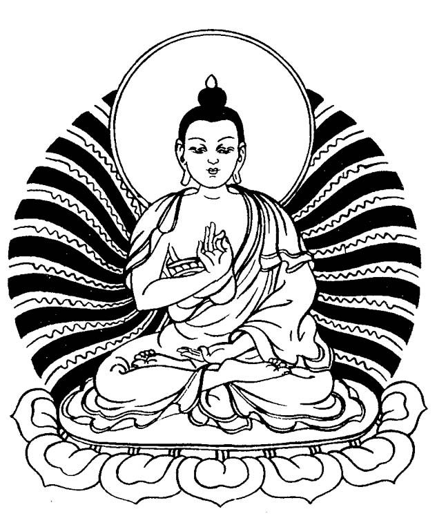 Buddha clipart 25+ for adults Coloring on