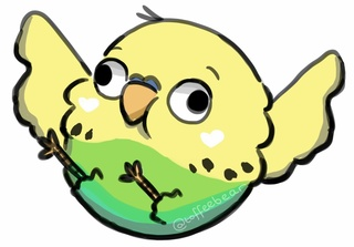 Budgerigars clipart budgie PaigeeWorld my of of Cartoon