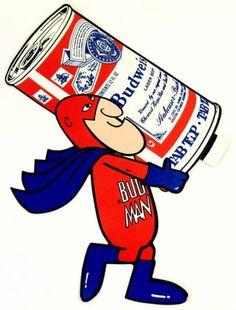 Budweiser clipart anheuser busch 70's an 7 American style