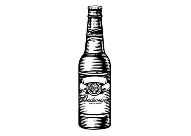 Budweiser clipart beer bottle #Beer Budweiser Budweiser #Style Pinterest