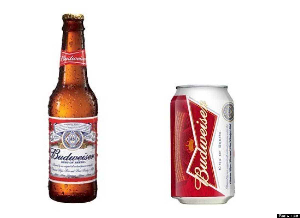 Budweiser clipart beer bottle Vs Can Really Taste Bottled