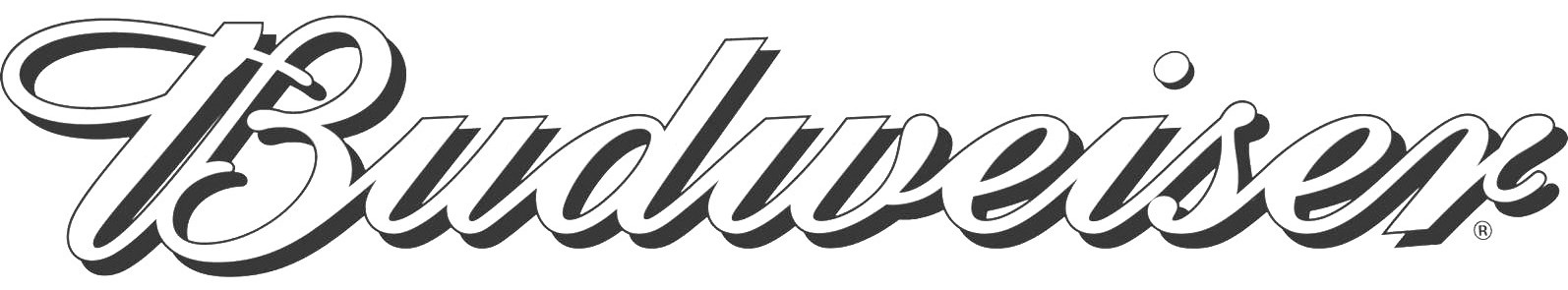 Budweiser clipart black and white Logo Neon on Copy Free