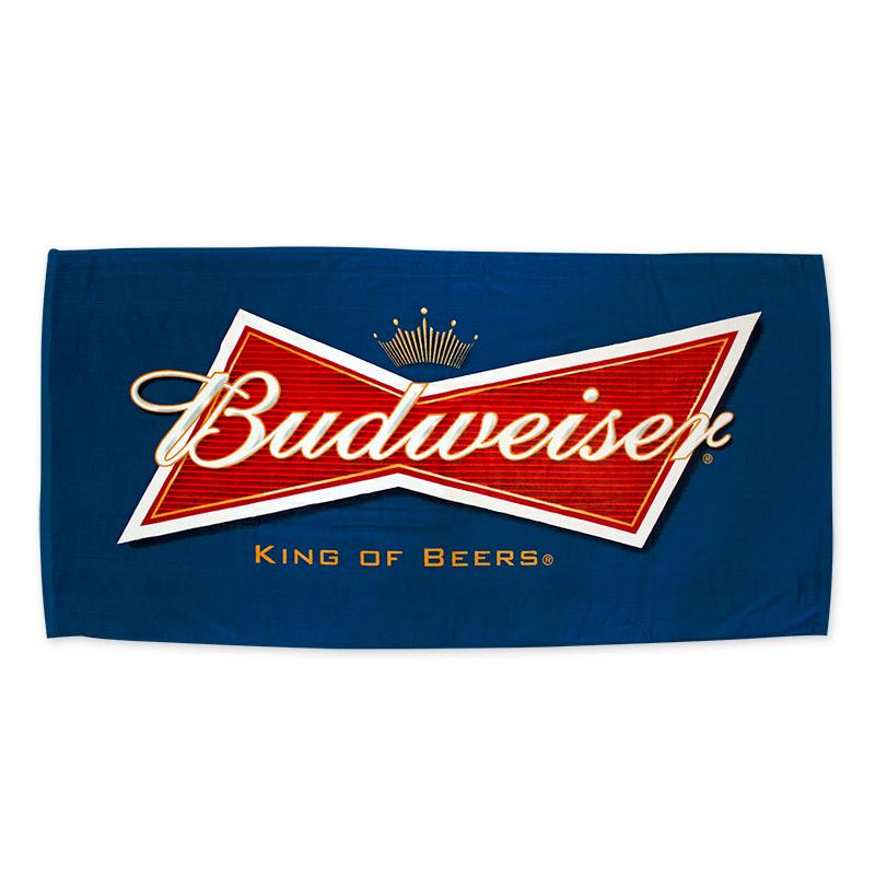 Budweiser clipart king beers Budweiser_King_Beers_Navy_Beach_Towel1_POP Budweiser Gallery King Logo