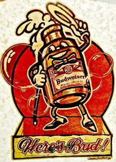 Budweiser clipart vintage T t retro Original Bud