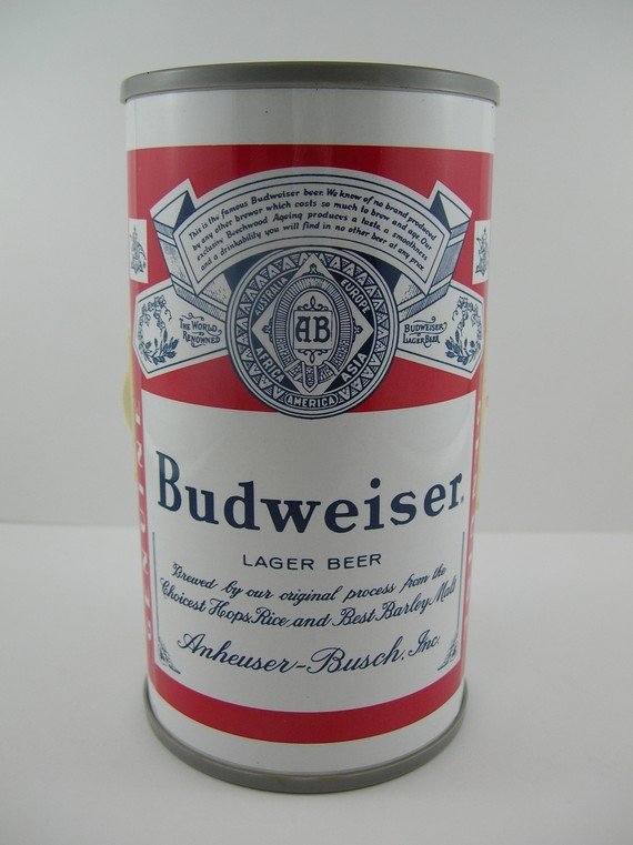 Budweiser clipart vintage Bud Can 70s Novelty Budweiser