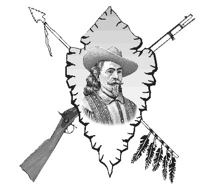 Buffalo Bill clipart black and white Club  Bill Home Buffalo