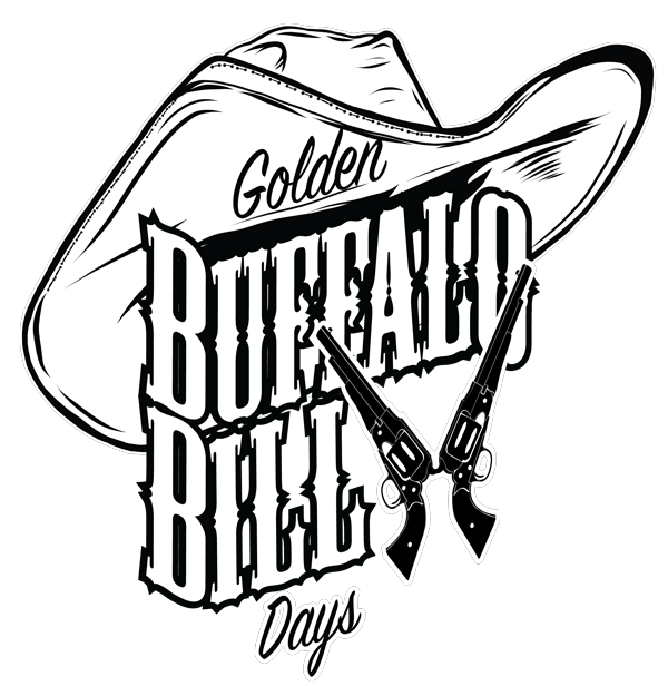 Buffalo Bill clipart black and white Buffalo Festival Colorado Buffalo Days