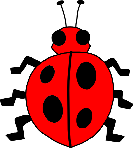 Lady Beetle clipart insect Bug Lady Images Red Art