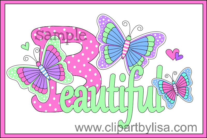 Bug clipart jungle Bugs butterflies clipart zoom
