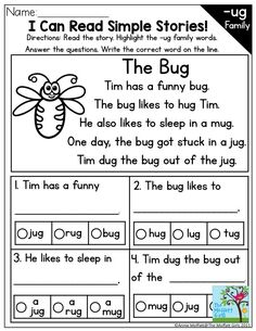 Bugs clipart cvc word Simple  the Simple Can