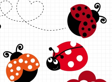 Bugs clipart flying lady Clipart · Clipart Lady Cliparts