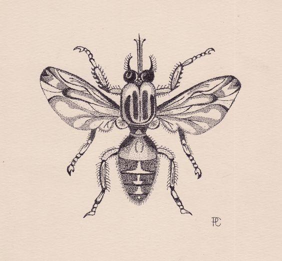 Bug clipart fruit fly Etsy (Bug) Fly Pointillism Ink