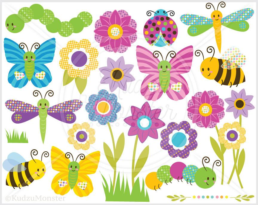 Bug clipart jungle Graphics Clip Graphics Art Bugs