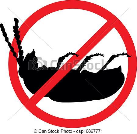 Bug clipart logo Stop Dead Stop csp16867771 bug