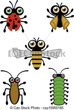 Bug clipart logo  Cute Cute cute Vector
