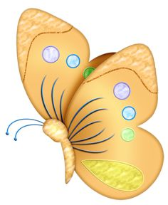 Bugs clipart orange butterfly Free 0_57ed7_3934a96f_orig Yellow Images (362×442)