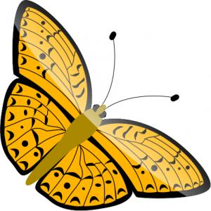 Bug clipart orange butterfly 2 Butterfly 28 Download Art