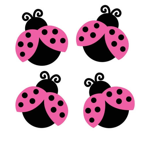 Bug clipart pink lady Pink Clipart Free Panda Lady