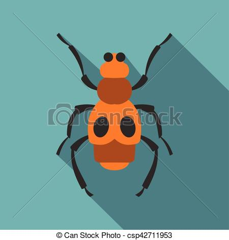 Bugs clipart spotted Icon Spotted of csp42711953 bug
