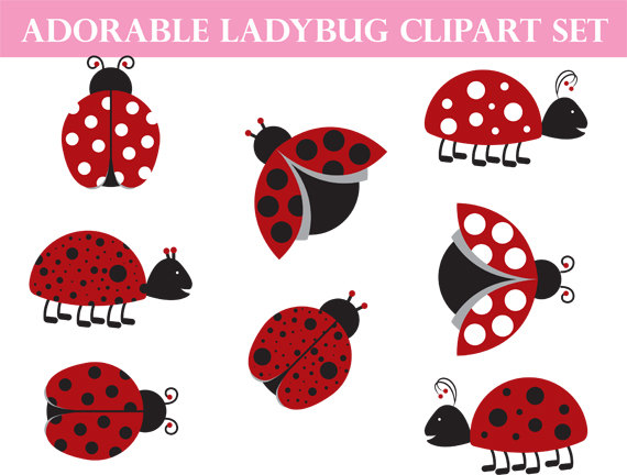 Bug clipart whimsical Use from Art Illustration Art