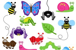 Bug clipart worm Bugs  Clipart ~ and