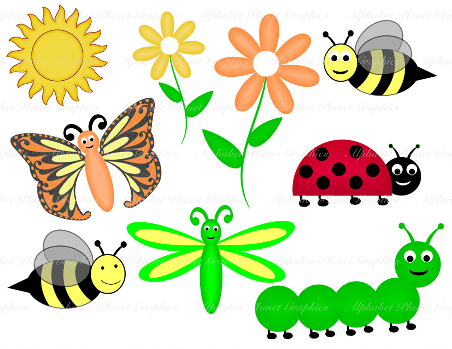 Caterpillar clipart spring #1