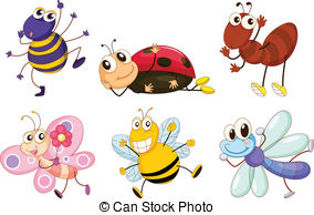 Bugs clipart Royalty bugs the different Bugs