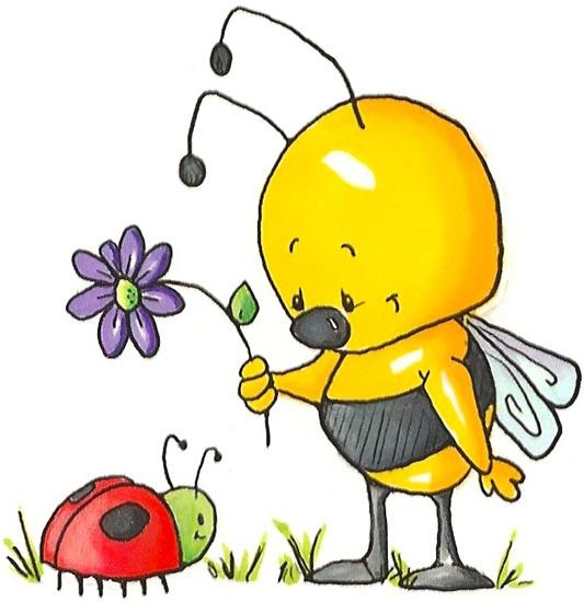 Bugs clipart bee ღ Clipart ~ Pin ღ
