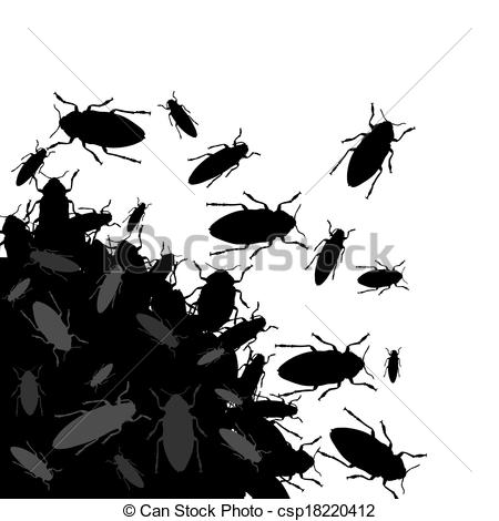 Bugs clipart bunch  mess bugs Illustration insects