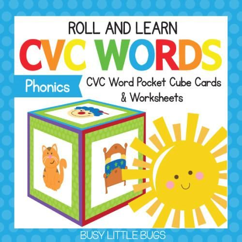Bugs clipart cvc word Images CVC & Roll Word