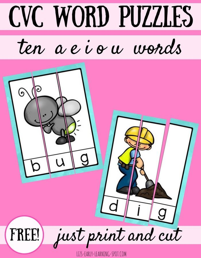 Bugs clipart cvc word On Word  of Free
