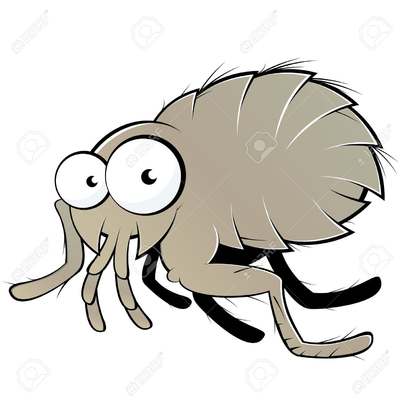 Bugs clipart flea > Cartoon camping And Cartoon