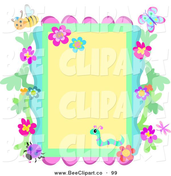 Bugs clipart little flower A Free Clip Clip on
