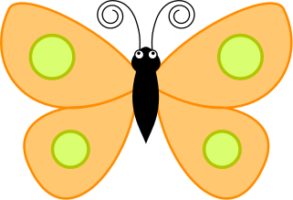 Bugs clipart orange butterfly Html butterfly wings /animals/bugs/butterfly spotted