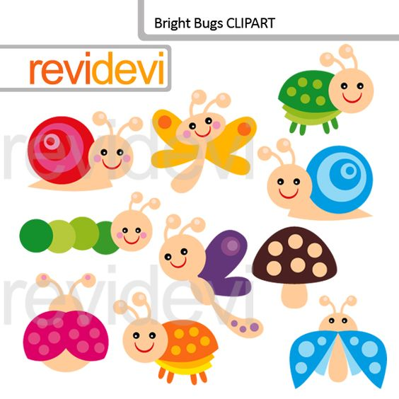 Bugs clipart printable Bright worm catalog bugs ideas
