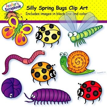 Bugs clipart silly Best Bugs on 125 Pinterest