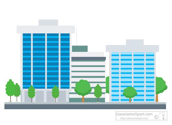 Towers clipart corporation building Clipart art Building free Building