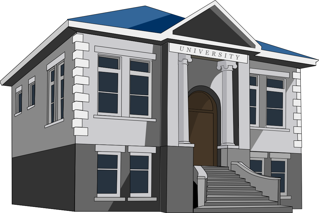 Porch clipart old building & Art university Clip Building