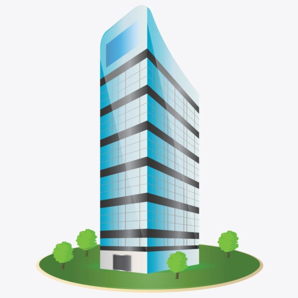 Office clipart corporation building Building and short clipartix Cliparting