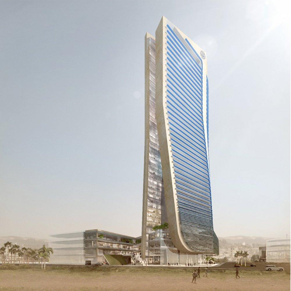 Building clipart corporation building Ethiopian Corporation & Insurance architects