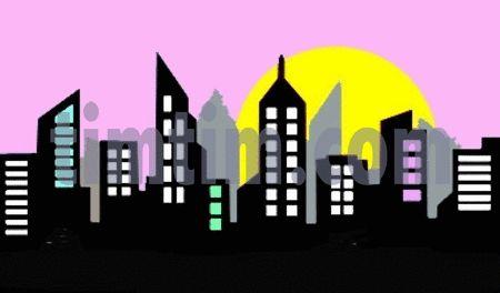 Building clipart gotham city  city City skyline Search
