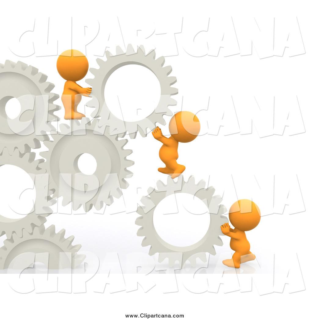 Building clipart orange Solution Clip Building Guys Orange