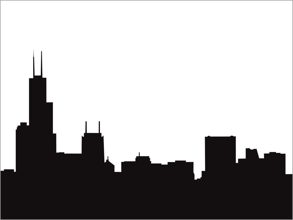 Chicago clipart Clipart Silhouette Building ~ Pictures