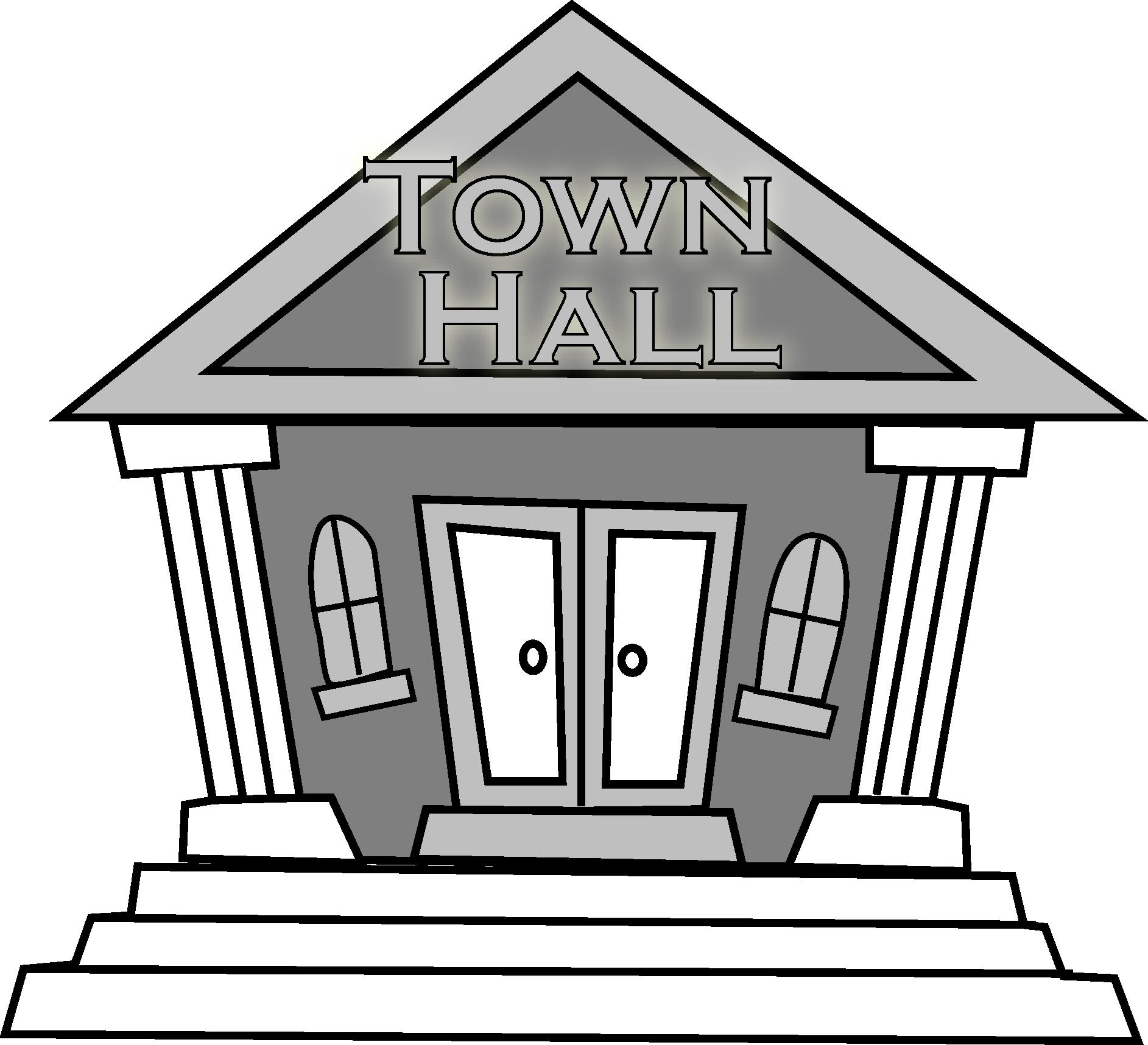 Town clipart mga #2
